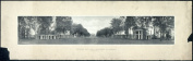 c1911 Rotunda and lawn, University of Virginia, Charlottesville, Va. 60cm Vintage