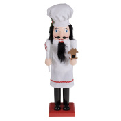 """Baker Chef Nutcracker by Clever Creations 