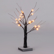 Goplus Decorative Birch Tree Lights Brown LED Warm White Decoration for Home, Wedding, Festival, Party, Christmas