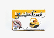 Inductive Truck Magic Pen Car Follow Trail Inductive Car Tank Truck Toy for Kids - Yellow Truck