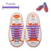 LattoGe No Tie Silicone Shoelaces Lace Lock Bands for Kids, Adults Athletic Running Shoe Laces,Sneakers