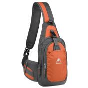 Sling Backpack, MALEDEN Water Resistant Outdoor Shoulder Chest Pack Unbalance Crossbody Bag for Women Men Girls Boys Travel Daypack
