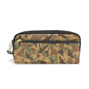 My Daily Camouflage Pencil Case Pen Bag Pouch Coin Purse Cosmetic Makeup Bag