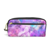 My Daily Purple Galaxy Pencil Case Pen Bag Pouch Coin Purse Cosmetic Makeup Bag