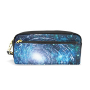 My Daily Galaxy Universe Pencil Case Nebula Milky Way Pen Bag Pouch Coin Purse Cosmetic Makeup Bag