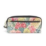 My Daily Vintage Flower Pencil Case Colourful Floral Pen Bag Pouch Coin Purse Cosmetic Makeup Bag