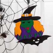Creative Halloween Pendant Ornaments,Tuscom Halloween Pumpkin Witch Ghost Decor