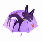 46cm colourful rainproof umbrella,3D aninmal shape kids umbrella design for boys and girls