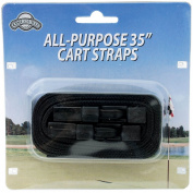 Golf Cart Straps (2 pack) with Easy Release Buckle