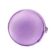 ReachTop Carrying Hard Case Bag for Earphone Headphone iPod MP3,light purple