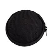 ReachTop Carrying Hard Case Bag for Earphone Headphone iPod MP3,black