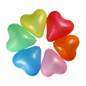 MD Group Love Heart Balloons 30cm Valentine Proposal Wedding Party Decoration 100pcs