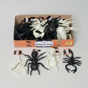 Set of 8 Halloween Hanging Bugs! Scorpions and Ants! Black and Glow in the Dark! Creepy Crawly Bugs Perfect for Halloween Decorations and Parties!