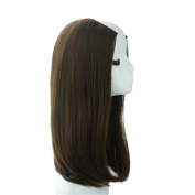 Remeehi Long Straight Women Synthetic Half Wigs 3 Sides U Part Wigs 2#