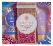 Heathcote & Ivory Sakura Silks Hand Cream Delights 3 x 30 ml