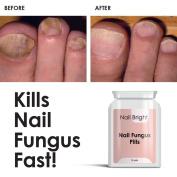 NAIL BRIGHT PILLS - FUNGUS TREATMENT STOP NAIL DISCOLOURATION STOP BACTERIA