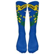 Nevada Knee High Graduated Compression Socks For Women And Men - Best Medical, Nursing, Travel & Flight Socks - Running & Fitness