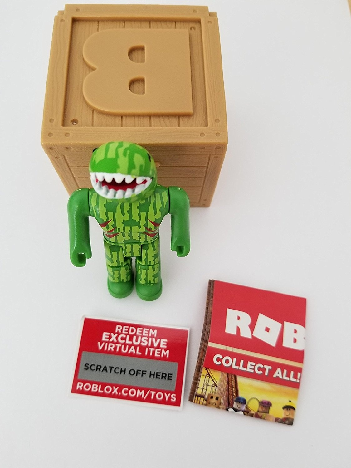 Roblox Series 2 Sharksie Action Figure Mystery Box Virtual Item