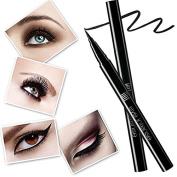 Liquid Waterproof Eye Liner Pen, UNT Long-wearing Extra Smudge-resistant Black Eyeliner
