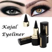 Women Waterproof Eye Liners, Lotus.flower Eyes Makeup Pencil Longwear Black Gel Stickers Eyeliner