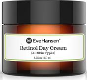 Retinol Day Cream - Moisturiser for AntiAging Skincare! Made with natural retinol for facial firming & tightening. Packed with Vit A for dry skin, fine line, and wrinkle improvement for all skin types