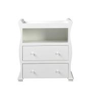 East Coast Alaska Sleigh Dresser, White