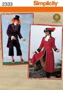 Simplicity Sewing Pattern 2333 Men's Costumes Size AA