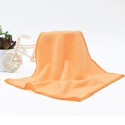 25x25cm Soft Microfiber Face Hand Towels Solid Absorbent Dry Hair Towel House Cleaning Car Wash Cloth