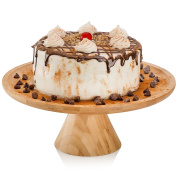 Natural Bamboo Cake Stand by MosesMo