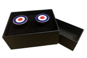 Enammelled Target / MOD Cufflinks with Gift Box