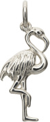 Lily Charmed - Sterling Silver Flamingo Charm