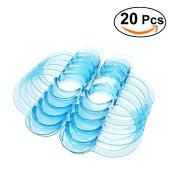 ULTNICE Dental C-shape Type Clear Cheek Retractor Mouth Lip Opener 20Pcs - L