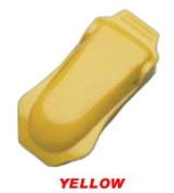 EYEWEAR Clip for Hard Hat Yellow Colour