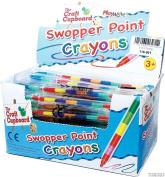 24 x Swop Point Crayons