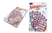 Bingo Pad 600 Tickets 6 To View with Perforated Edges