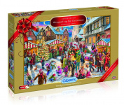 Gibsons G2017 All Wrapped Up for Christmas, 2017 Limited Edition Jigsaw Puzzle