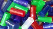 50 x Philips Multi Colour Translucent 13 Dram Pop Top Medical Grade Vial Containers