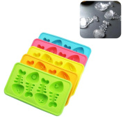 Kerocy Silicone Ice Cube Mould Nice Fish Shaped Trays DIY Ice Cream Chocolate Maker Mould Kitchen Accessories