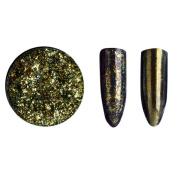 Sequins Nail Powder,Morecome Glitter Aluminium Flakes Magic Mirror Effect Powders