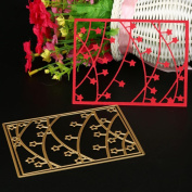 Cywulin New 250 Type Cutting Dies Stencil Metal Mould Scrapbooking Embossing Album for DIY Embossing Scrapbook Album Paper Amusing Card Decor Craft