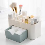 Anshinto Saving Space Desktop Comestics Makeup Storage Drawer Box
