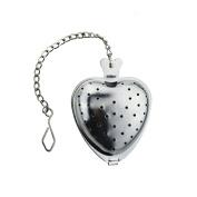 Heart Shaped Tea Infuser Spoon Strainer Stainless Steel Steeper Handle Shower