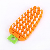 Fruit Vegetable Brush, Kitchen Home Cleaner Brush Tools Easy Cleaning for Fruit Veggie Scrubber by Staron