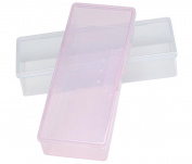 2 Pcs Empty Multifunctional Rectangular Storage Box - Nail Jewellery Storage Box Polished Manicure Toolbox