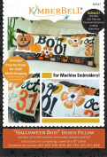 Halloween Boo! Bench Pillow Machine Embroidery CD by KimberBell KD527