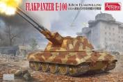 1/35 German E-100 Flakpanzer (8.8cm Flakzwilling) Plastic Model(Back-order)(1/35 E-100