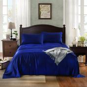 Royal Comfort Bamboo sheets -Mega Queen Indigo