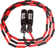 BodySport Beaded Jump Rope - Expand Your Workout Routine - Foam Handles for Firm Grip - 2.7m Rope