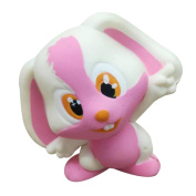 Newest Kids Cute Soft Rabbit Cartoon Squishy Slow Rising Squeeze Stress Relief Toys Gifts, Pink/Purple