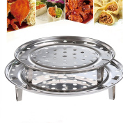 Steam Rack,Steaming Rack Stand,Steam Tray,Multi-Function Stainless Steel By Cydnlive
